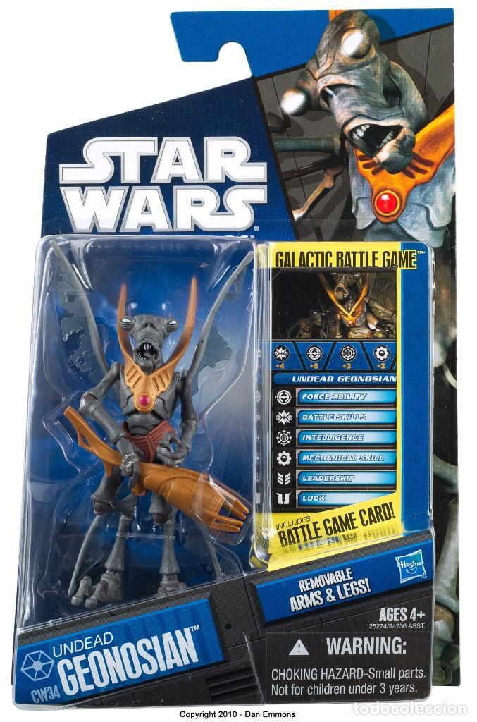 STAR WARS THE CLONE WARS - UNDEAD GEONOSIAN - HASBRO (Juguetes - Figuras de Acción - Star Wars)