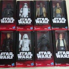 Figuras y Muñecos Star Wars: COLECCIÓN COMPLETA 8 FIGURAS STAR WARS NUEVA ERA. HASBRO DISNEY. HAN SOLO, DARTH VADER. 600 GR. Lote 61779668
