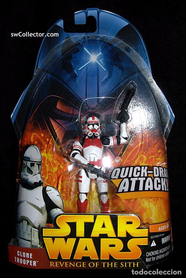 Star Wars Revenge Of The Sith Clone Trooper Buy Figures And Dolls Star Wars At Todocoleccion 61810196