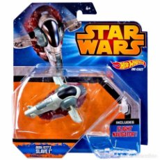 Figuras y Muñecos Star Wars: STAR WARS HOT WHEELS - BOBA FETT´S SLAVE I - HASBRO. Lote 61819020