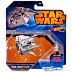 Figuras y Muñecos Star Wars: STAR WARS HOT WHEELS - REBEL SNOWSPEEDER - HASBRO. Lote 61819408