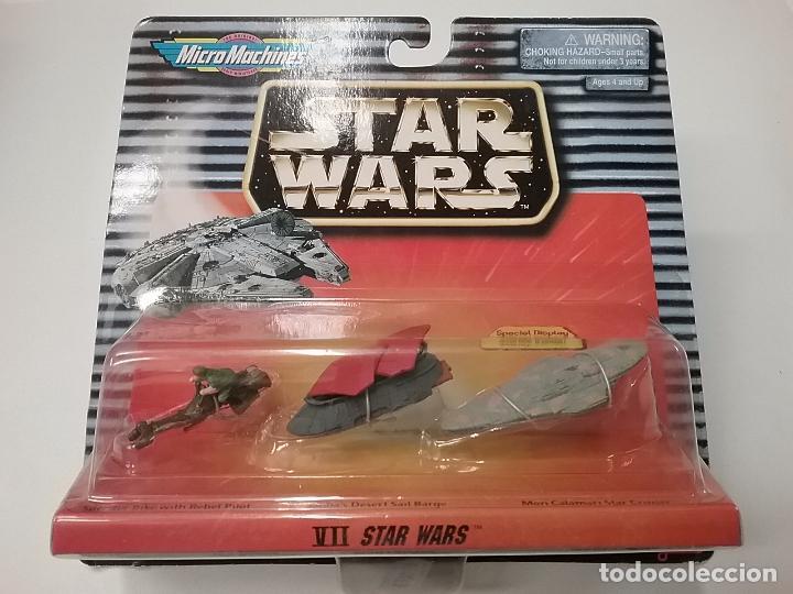 STAR WARS VII - MICROMACHINES - MICRO MACHINES - 1997 - GALOOP (Juguetes - Figuras de Acción - Star Wars)