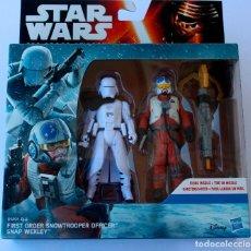 Figuras y Muñecos Star Wars: STAR WARS FORCE AWAKENS DESPERTAR DE FUERZA FIRST ORDER SNOWTROOPER OFFICER SNAP. Lote 62282148