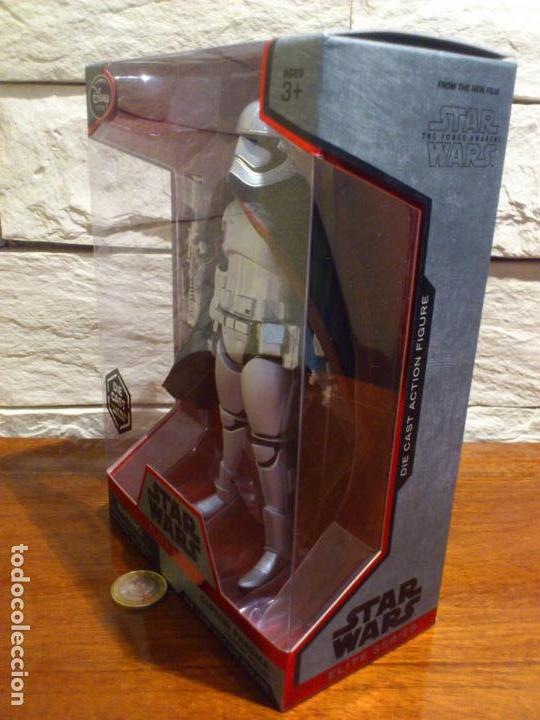 Figuras y Muñecos Star Wars: STAR WARS - CAPTAIN - CAPITAN PHASMA - FIGURA METAL - DIE CAST - ELITE SERIES - NUEVO - DISNEY STORE - Foto 4 - 62647184