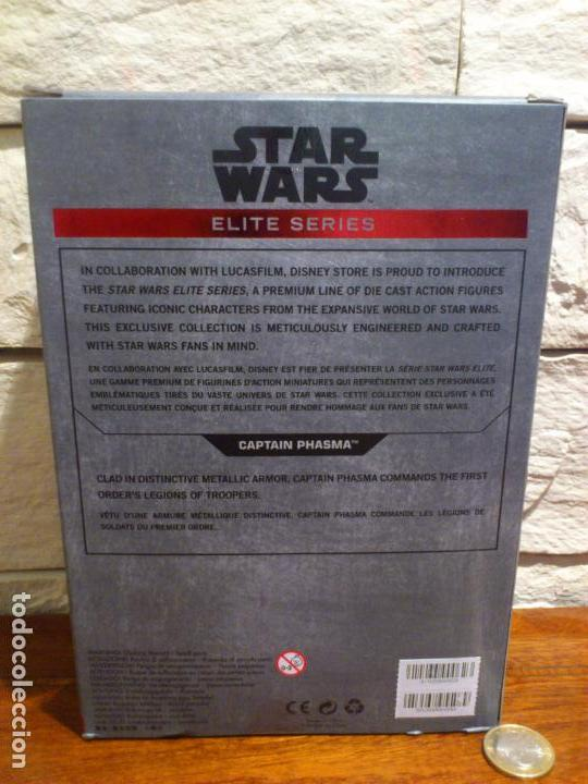 Figuras y Muñecos Star Wars: STAR WARS - CAPTAIN - CAPITAN PHASMA - FIGURA METAL - DIE CAST - ELITE SERIES - NUEVO - DISNEY STORE - Foto 6 - 62647184
