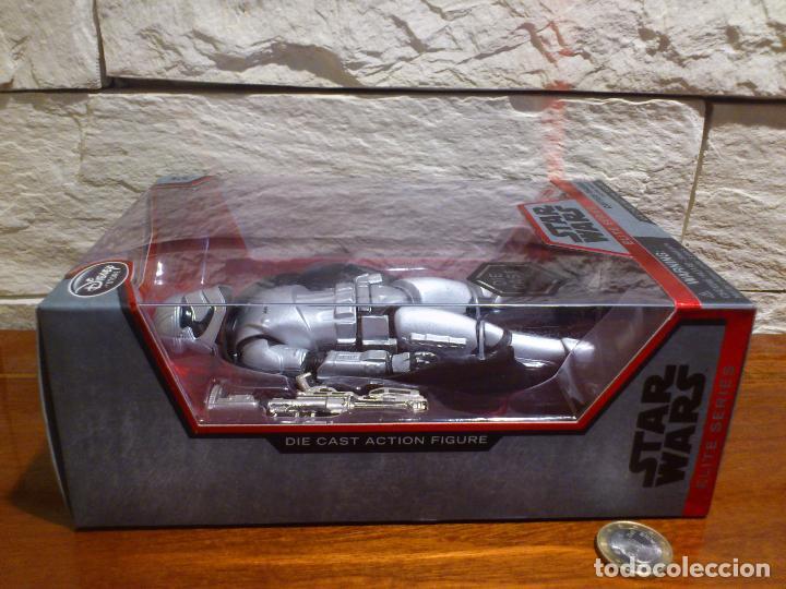 Figuras y Muñecos Star Wars: STAR WARS - CAPTAIN - CAPITAN PHASMA - FIGURA METAL - DIE CAST - ELITE SERIES - NUEVO - DISNEY STORE - Foto 9 - 62647184