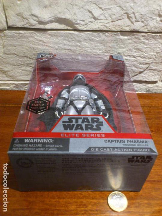 Figuras y Muñecos Star Wars: STAR WARS - CAPTAIN - CAPITAN PHASMA - FIGURA METAL - DIE CAST - ELITE SERIES - NUEVO - DISNEY STORE - Foto 13 - 62647184