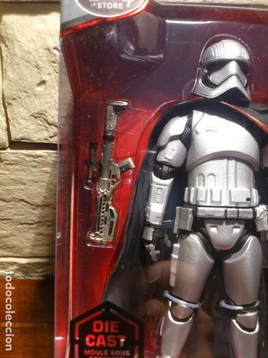 Figuras y Muñecos Star Wars: STAR WARS - CAPTAIN - CAPITAN PHASMA - FIGURA METAL - DIE CAST - ELITE SERIES - NUEVO - DISNEY STORE - Foto 15 - 62647184