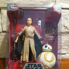 Figuras y Muñecos Star Wars: STAR WARS - REY Y BB-8 - FIGURAS - METAL - DIE CAST - ELITE SERIES - ORIGINAL DISNEY STORE - NUEVOS. Lote 62647304