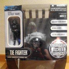 Figuras y Muñecos Star Wars: TIE FIGHTER (ALAS GRANDES) DE THE SAGA COLLECTION EXCLUSIVE DE HASBRO. Lote 63352712