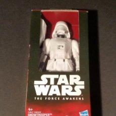 Figuras y Muñecos Star Wars: STAR WARS - THE FORCE AWAKENS - EL DESPERTAR DE LA FUERZA - SNOWTROOPER - 13 CM - DISNEY - HASBRO. Lote 64107187
