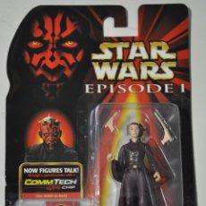 Figuras y Muñecos Star Wars: FIGURA QUEEN AMIDALA COMMTECH CHIP STAR WARS EPISODE I. AÑOS 90.LA GUERRA DE LAS GALAXIAS. Lote 196327481