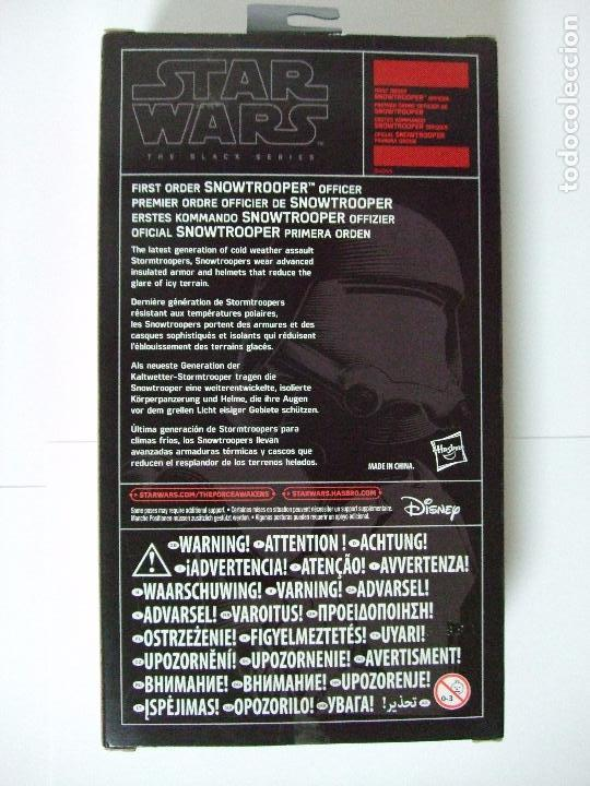 Figuras y Muñecos Star Wars: FIGURA SNOWTROOPER OFFICER - STAR WARS THE FORCE AWAKENS - HASBRO BLACK SERIES 15 CM - Foto 3 - 65779950
