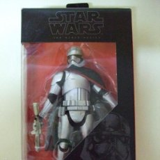 Figuras y Muñecos Star Wars: FIGURA CAPTAIN CAPITÁN PHASMA - STAR WARS THE FORCE AWAKENS - HASBRO THE BLACK SERIES 15 CM. Lote 65780378