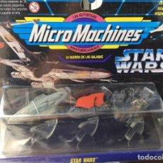 Figuras y Muñecos Star Wars: MICROMACHINES STAR WARS COLECCION VI. Lote 65966710
