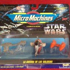 Figuras y Muñecos Star Wars: MICROMACHINES STAR WARS COLECCION VII. Lote 65966826