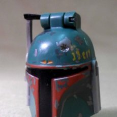 Figuras y Muñecos Star Wars: RARO MASCARA CON PERSONAJE EN EL INTERIOR, STAR WARS, 1996, MICRO MACHINES. Lote 66512498