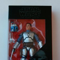 Figuras y Muñecos Star Wars: STAR WARS DESPERTAR DE LA FUERZA FORCE AWAKENS THE BLACK SERIES JANGO FETT. Lote 66819586
