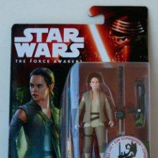 Figuras y Muñecos Star Wars: STAR WARS FORCE AWAKENS DESPERTAR DE LA FUERZA FIGURA REY RESISTANCE OUTFIT. Lote 66819994