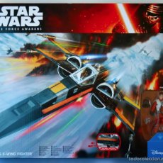 Figuras y Muñecos Star Wars: STAR WARS DESPERTAR DE FUERZA FORCE AWAKEN X-WING FIGHTER WITH POE DAMERON XWING. Lote 66820118
