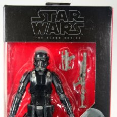 Figuras y Muñecos Star Wars: FIGURA STAR WARS THE BLACK SERIES ROGUE ONE - IMPERIAL DEATH TROOPER SOLDADO DE LA MUERTE. Lote 66917618