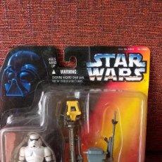 Figuras y Muñecos Star Wars: STAR WARS POTF DELUXE CROWD CONTROL STORMTROOPER. Lote 67658377
