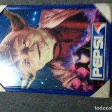 Figuras y Muñecos Star Wars: RARO CARTEL DE LA GUERRA DE LAS GALAXIAS PATROCINADO POR PEPSI. Lote 68415541