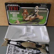 Figuras y Muñecos Star Wars: STAR WARS - MOTO JET SPEEDER BIKE - EL RETORNO DEL JEDI - MADE IN SPAIN - 1983. Lote 68660813