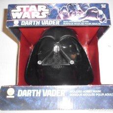 Figuras y Muñecos Star Wars: STAR WARS DARTH VADER MOLDED ADULT MASK RUBIES 2013. Lote 68777537