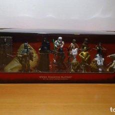 Figuras y Muñecos Star Wars: STAR WARS - MEGA FIGURINE - PLAYSET - 20 FIGURAS - EPISODIOS CLASICOS - DESCATALOGADO - NUEVO. Lote 116146284