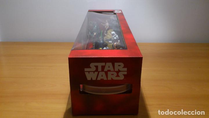 Figuras y Muñecos Star Wars: STAR WARS - MEGA FIGURINE - PLAYSET - 20 FIGURAS - EPISODIOS CLASICOS - DESCATALOGADO - NUEVO - Foto 5 - 116146284