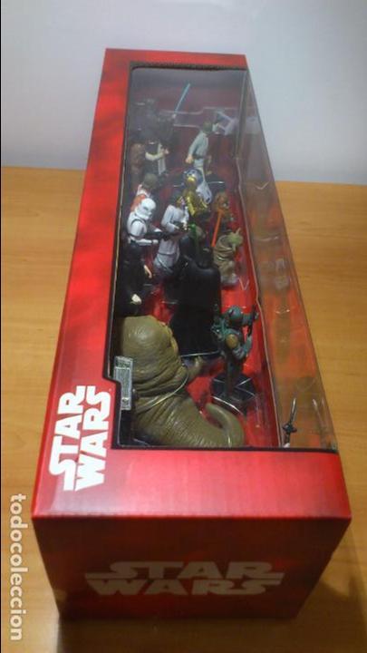 Figuras y Muñecos Star Wars: STAR WARS - MEGA FIGURINE - PLAYSET - 20 FIGURAS - EPISODIOS CLASICOS - DESCATALOGADO - NUEVO - Foto 7 - 116146284