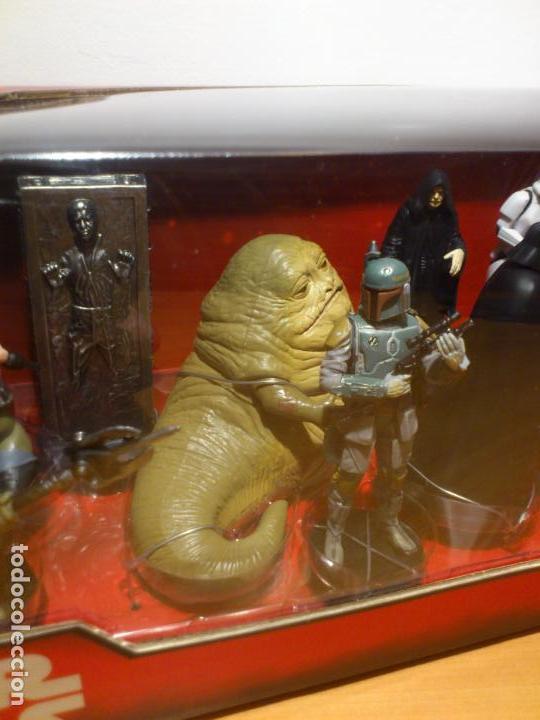 Figuras y Muñecos Star Wars: STAR WARS - MEGA FIGURINE - PLAYSET - 20 FIGURAS - EPISODIOS CLASICOS - DESCATALOGADO - NUEVO - Foto 9 - 116146284