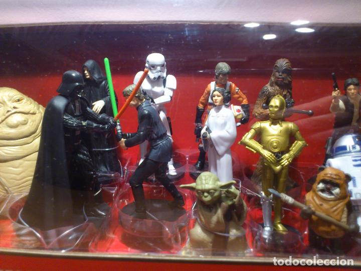 Figuras y Muñecos Star Wars: STAR WARS - MEGA FIGURINE - PLAYSET - 20 FIGURAS - EPISODIOS CLASICOS - DESCATALOGADO - NUEVO - Foto 10 - 116146284