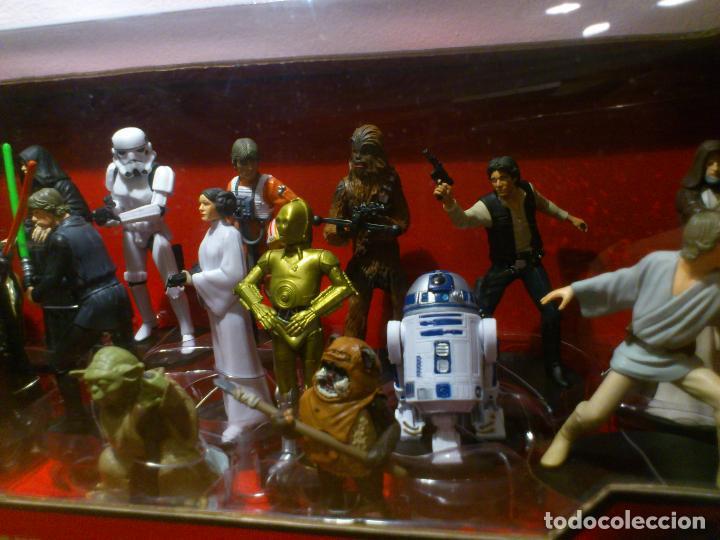 Figuras y Muñecos Star Wars: STAR WARS - MEGA FIGURINE - PLAYSET - 20 FIGURAS - EPISODIOS CLASICOS - DESCATALOGADO - NUEVO - Foto 11 - 116146284