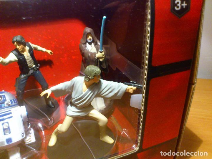 Figuras y Muñecos Star Wars: STAR WARS - MEGA FIGURINE - PLAYSET - 20 FIGURAS - EPISODIOS CLASICOS - DESCATALOGADO - NUEVO - Foto 12 - 116146284