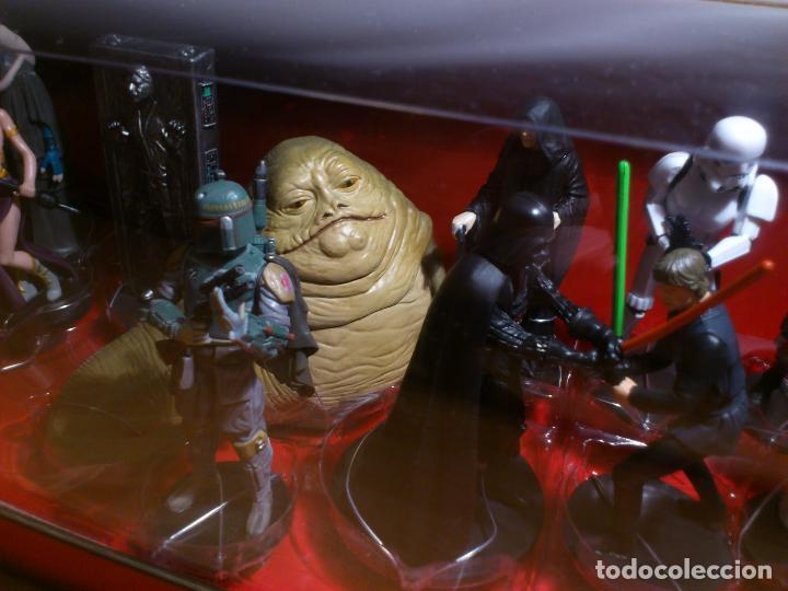 Figuras y Muñecos Star Wars: STAR WARS - MEGA FIGURINE - PLAYSET - 20 FIGURAS - EPISODIOS CLASICOS - DESCATALOGADO - NUEVO - Foto 13 - 116146284