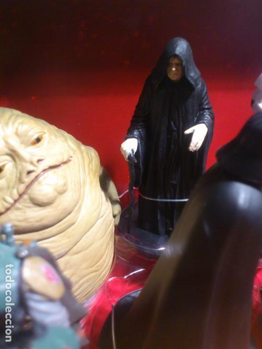 Figuras y Muñecos Star Wars: STAR WARS - MEGA FIGURINE - PLAYSET - 20 FIGURAS - EPISODIOS CLASICOS - DESCATALOGADO - NUEVO - Foto 14 - 116146284