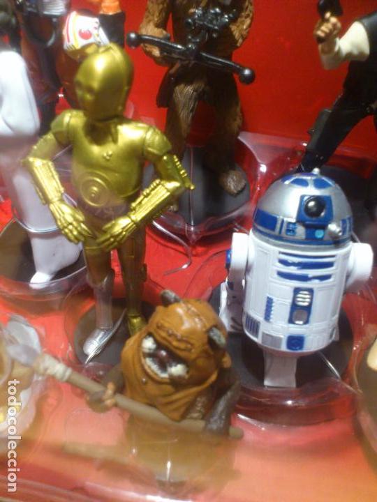 Figuras y Muñecos Star Wars: STAR WARS - MEGA FIGURINE - PLAYSET - 20 FIGURAS - EPISODIOS CLASICOS - DESCATALOGADO - NUEVO - Foto 15 - 116146284
