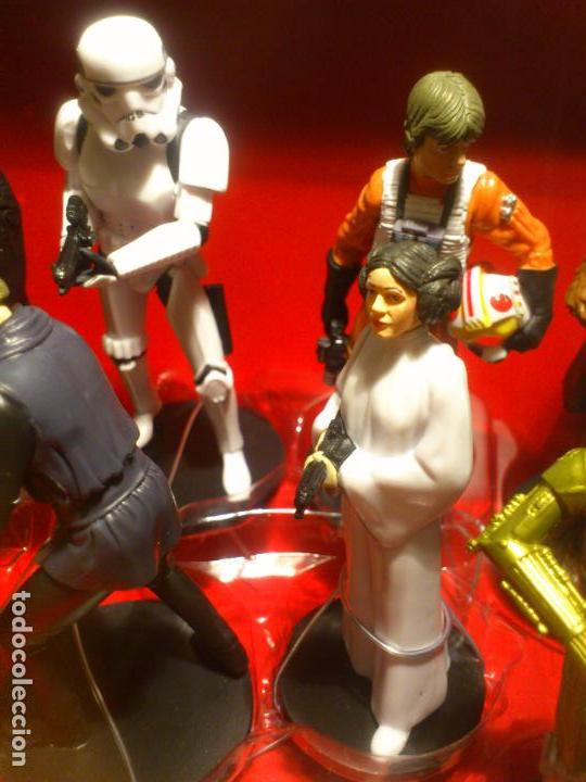 Figuras y Muñecos Star Wars: STAR WARS - MEGA FIGURINE - PLAYSET - 20 FIGURAS - EPISODIOS CLASICOS - DESCATALOGADO - NUEVO - Foto 18 - 116146284