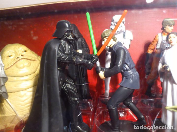 Figuras y Muñecos Star Wars: STAR WARS - MEGA FIGURINE - PLAYSET - 20 FIGURAS - EPISODIOS CLASICOS - DESCATALOGADO - NUEVO - Foto 20 - 116146284