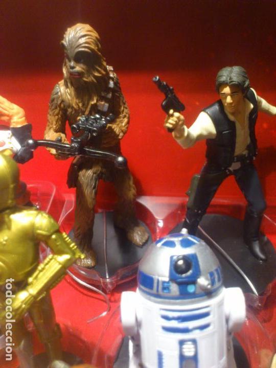 Figuras y Muñecos Star Wars: STAR WARS - MEGA FIGURINE - PLAYSET - 20 FIGURAS - EPISODIOS CLASICOS - DESCATALOGADO - NUEVO - Foto 23 - 116146284