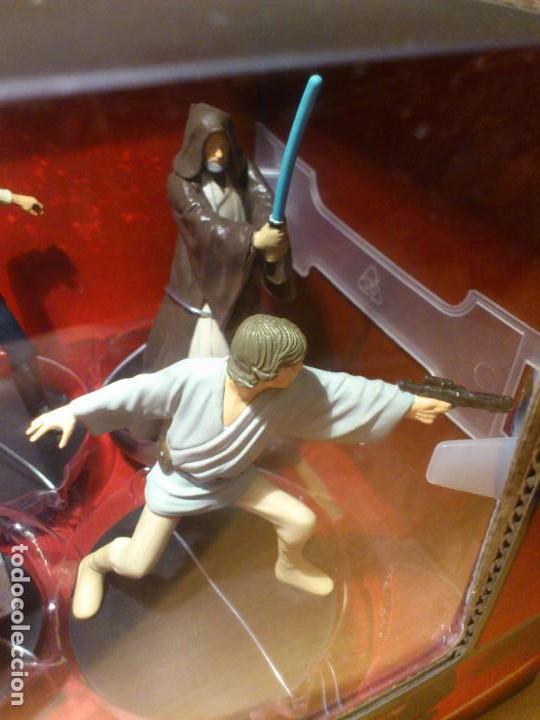 Figuras y Muñecos Star Wars: STAR WARS - MEGA FIGURINE - PLAYSET - 20 FIGURAS - EPISODIOS CLASICOS - DESCATALOGADO - NUEVO - Foto 24 - 116146284