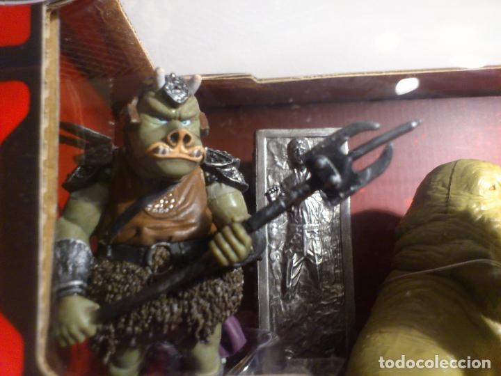 Figuras y Muñecos Star Wars: STAR WARS - MEGA FIGURINE - PLAYSET - 20 FIGURAS - EPISODIOS CLASICOS - DESCATALOGADO - NUEVO - Foto 25 - 116146284
