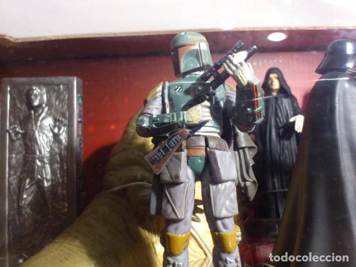 Figuras y Muñecos Star Wars: STAR WARS - MEGA FIGURINE - PLAYSET - 20 FIGURAS - EPISODIOS CLASICOS - DESCATALOGADO - NUEVO - Foto 26 - 116146284