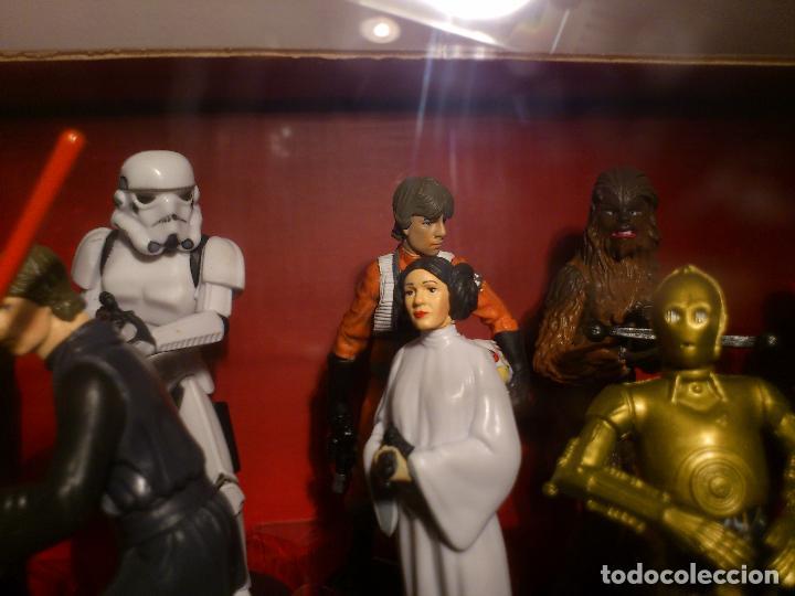Figuras y Muñecos Star Wars: STAR WARS - MEGA FIGURINE - PLAYSET - 20 FIGURAS - EPISODIOS CLASICOS - DESCATALOGADO - NUEVO - Foto 27 - 116146284