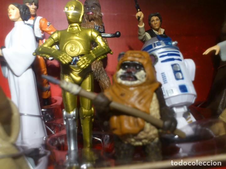 Figuras y Muñecos Star Wars: STAR WARS - MEGA FIGURINE - PLAYSET - 20 FIGURAS - EPISODIOS CLASICOS - DESCATALOGADO - NUEVO - Foto 28 - 116146284