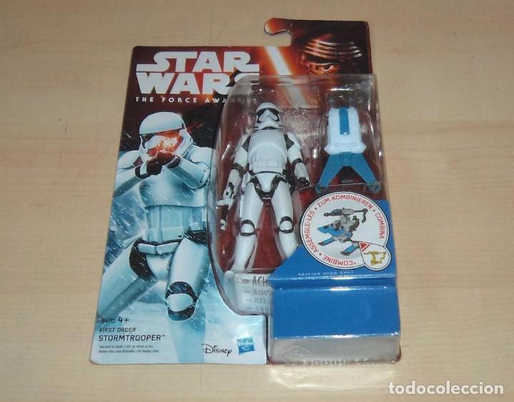 STAR WARS THE FORCE AWAKENS : STORMTROOPER. HASBRO. A ESTRENAR EN BLISTER (Juguetes - Figuras de Acción - Star Wars)