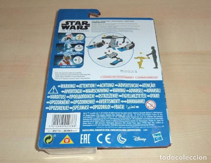 Figuras y Muñecos Star Wars: Star Wars The Force Awakens : Stormtrooper. Hasbro. a estrenar en blister - Foto 2 - 70541913