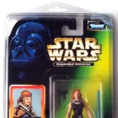 Figuras y Muñecos Star Wars: STAR WARS # MARA JADE # EXPANDED UNIVERSE - NUEVO EN SU BLISTER ORIGINAL CON PROTECTOR. DE KENNER.. Lote 51676252